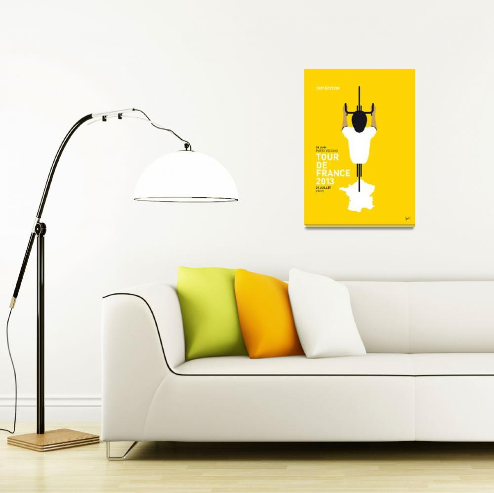 """""""MY TOUR DE FRANCE MINIMAL POSTER&quot  by Chungkong"""