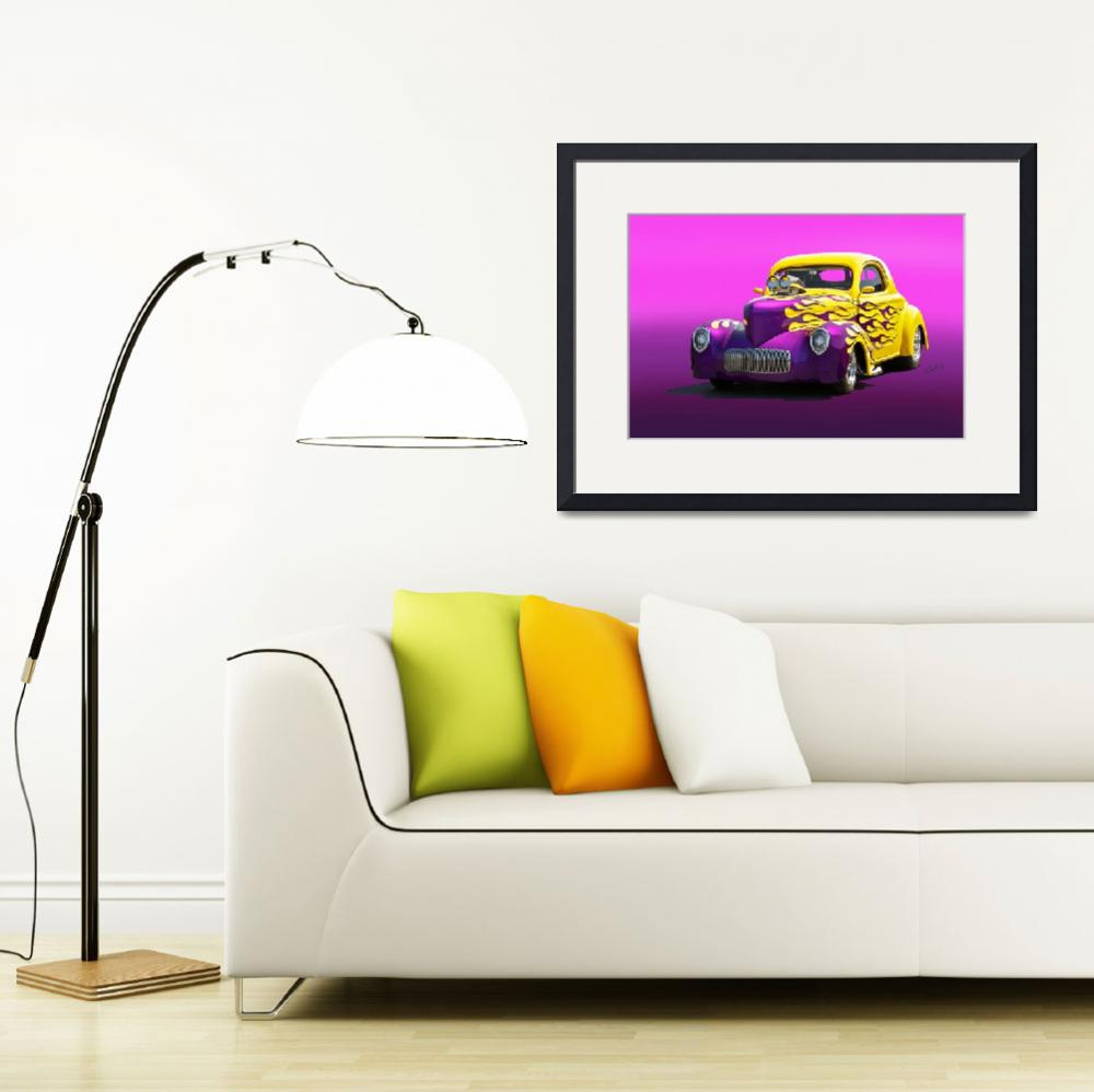 """""""1941 Willys Coupe I&quot  by FatKatPhotography"""