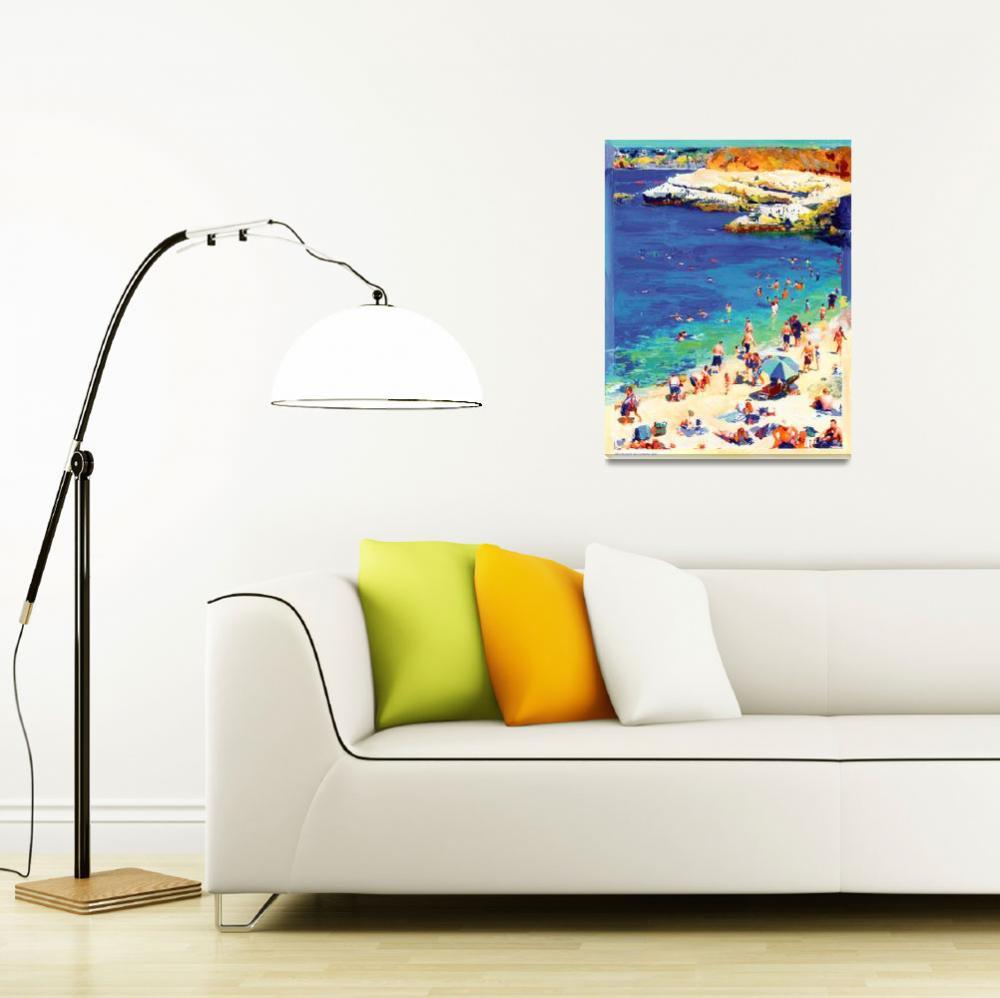 """The Cove, La Jolla California by Rd Riccoboni""  (2007) by RDRiccoboni"