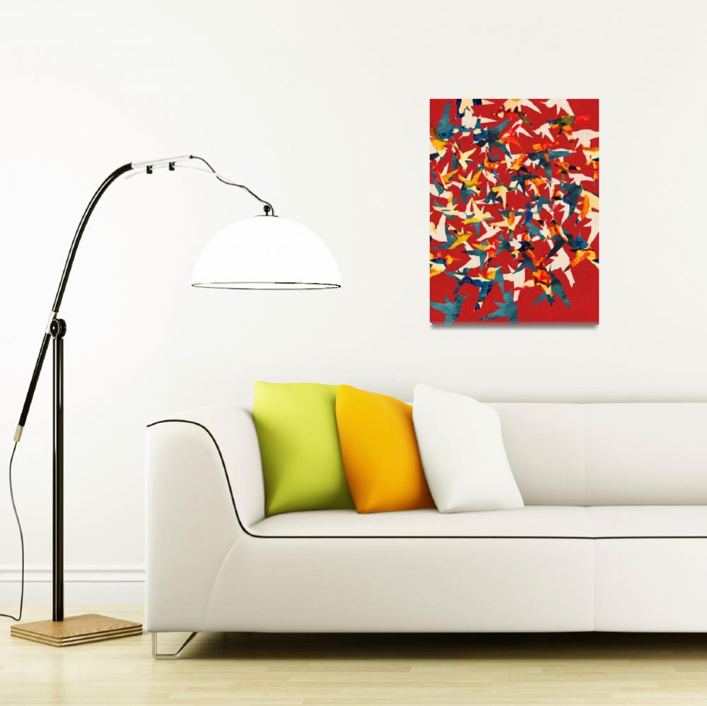 """""""Color Migration on Red&quot  by cozamia"""