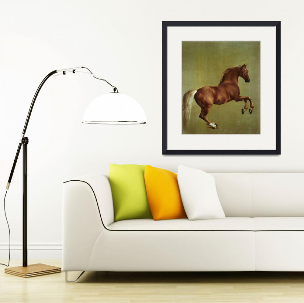 """Whistlejacket, 1762, by George Stubbs&quot  by fineartmasters"