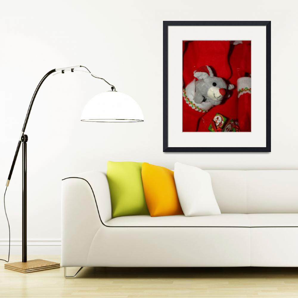 """""""Christmas mouse""""  (2008) by Albertphoto"""