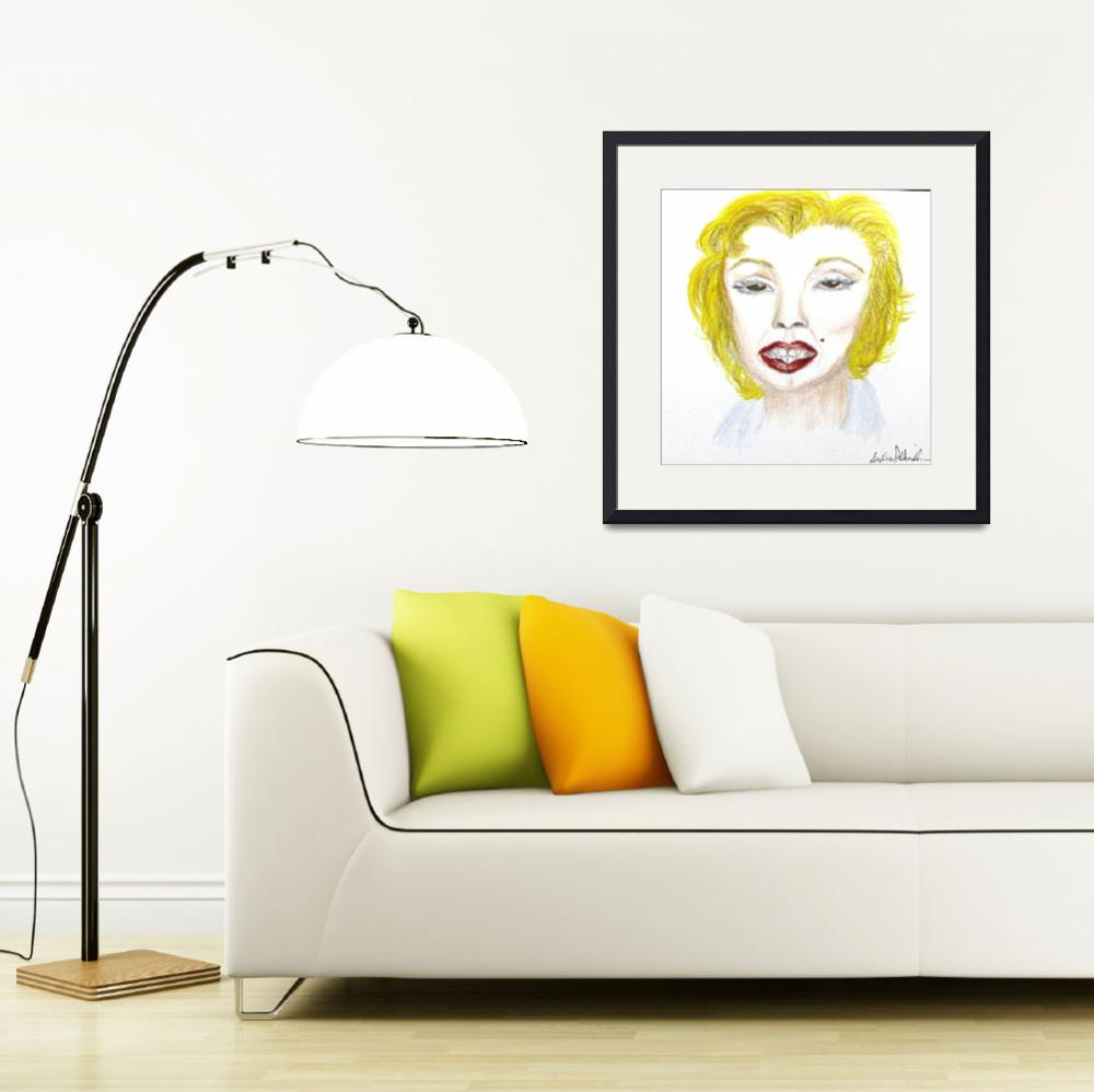 """""""Simply Marilyn&quot  (2010) by SunfluerDesigns"""