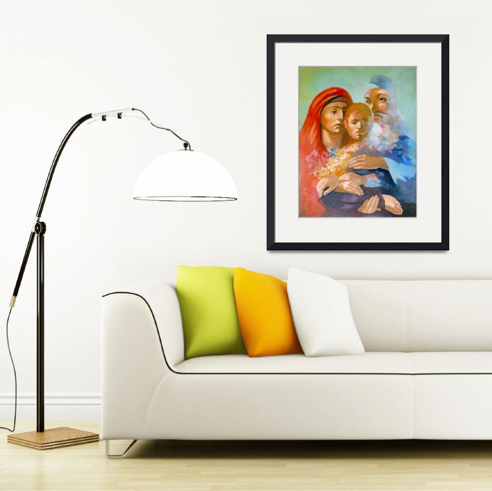 """""""Holy Family""""  (2009) by painterflipper"""