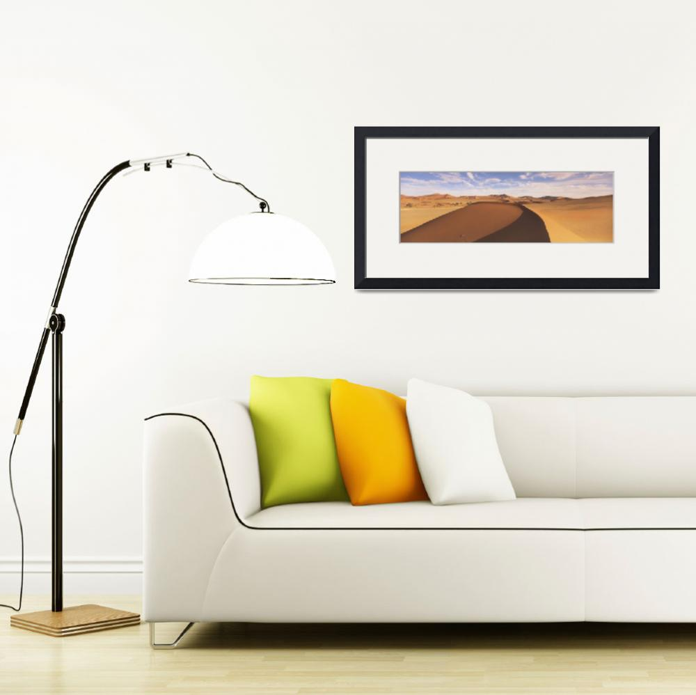 """""""Sand dunes in an arid landscape&quot  by Panoramic_Images"""