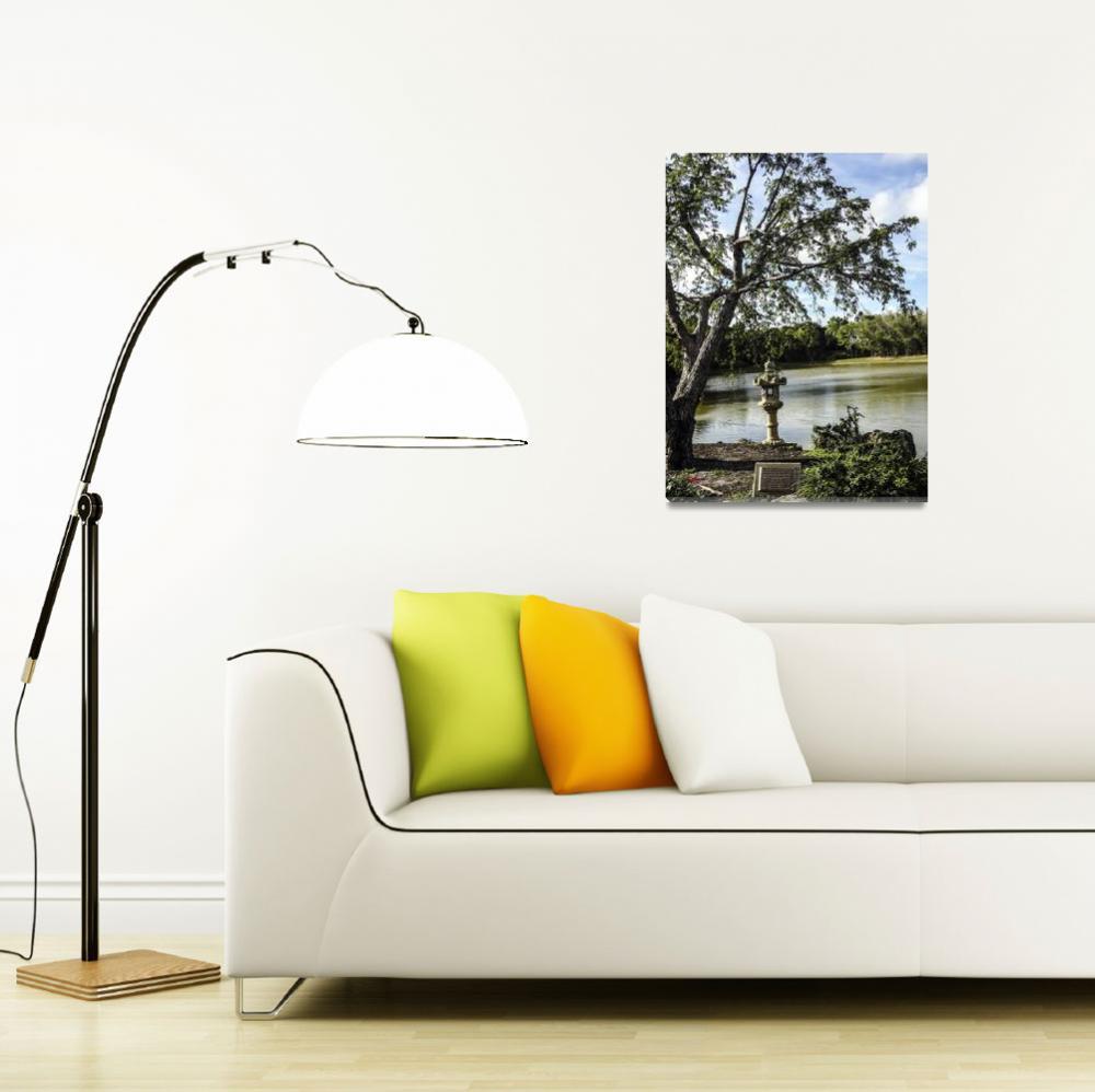 """Morikami Japanese Gardens Florida  1""  (2014) by GinetteCallaway"