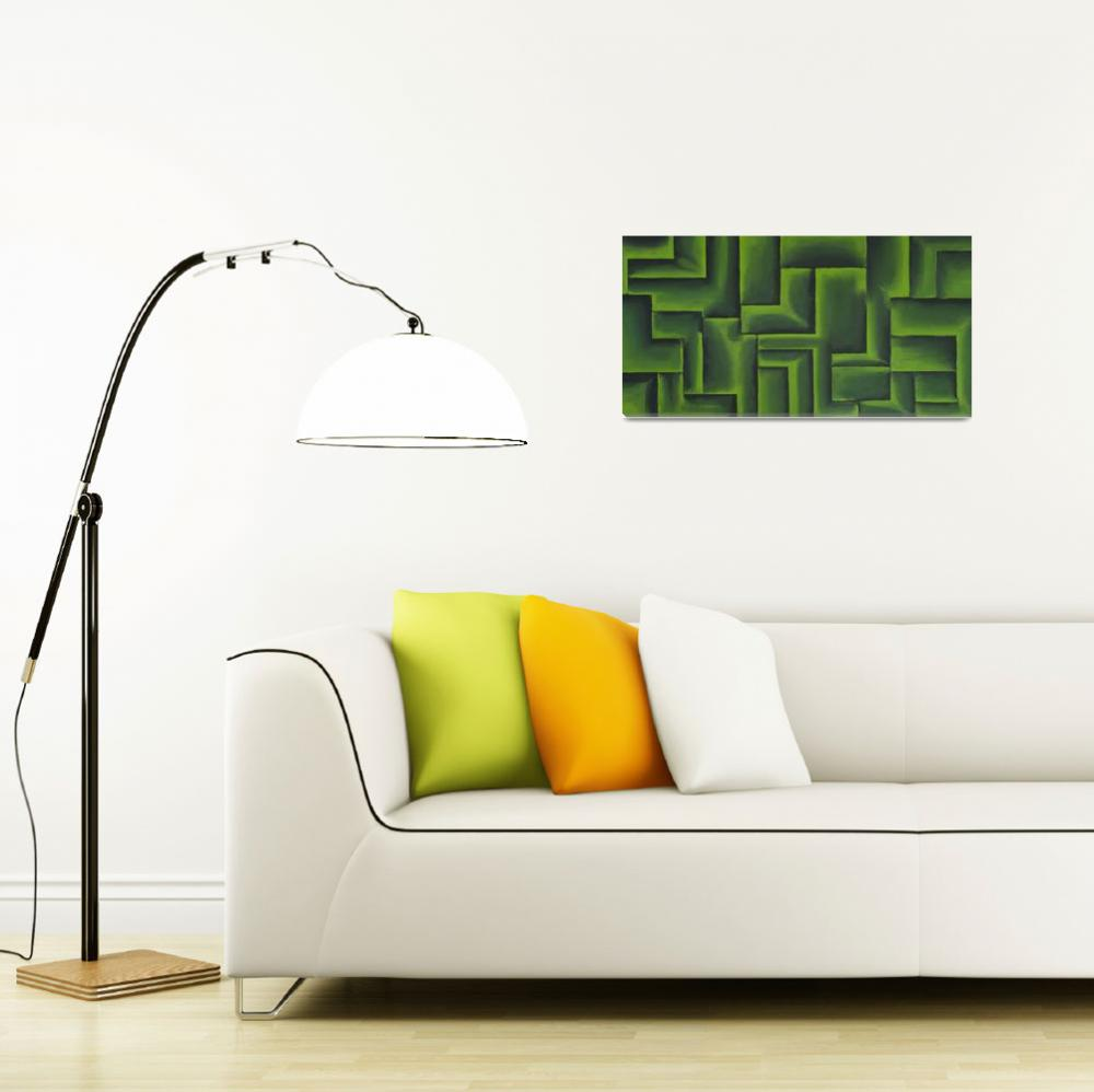 """""""Green With Envy""""  (2013) by waynecantrell"""