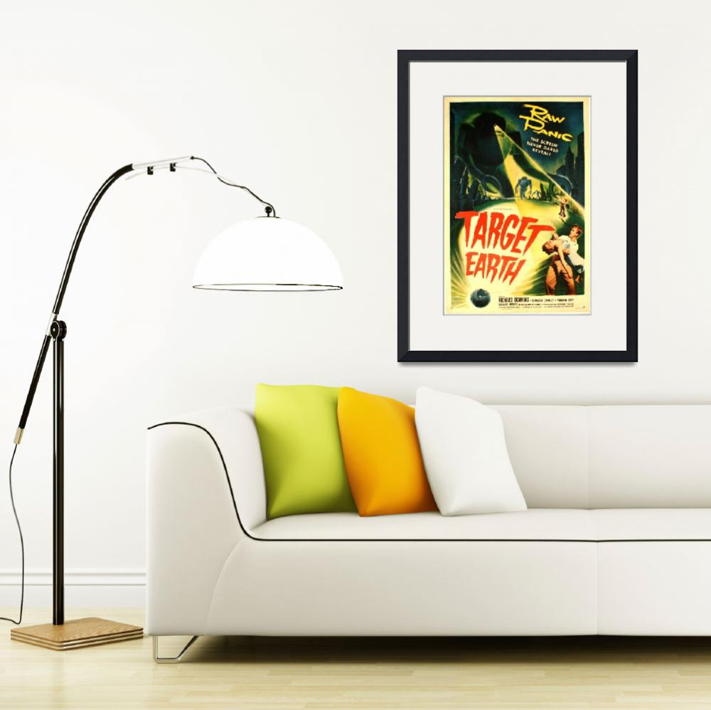 """""""Vintage Hollywood Nostalgia Film Movie Ad Poster&quot  by palaciodebellasartes"""