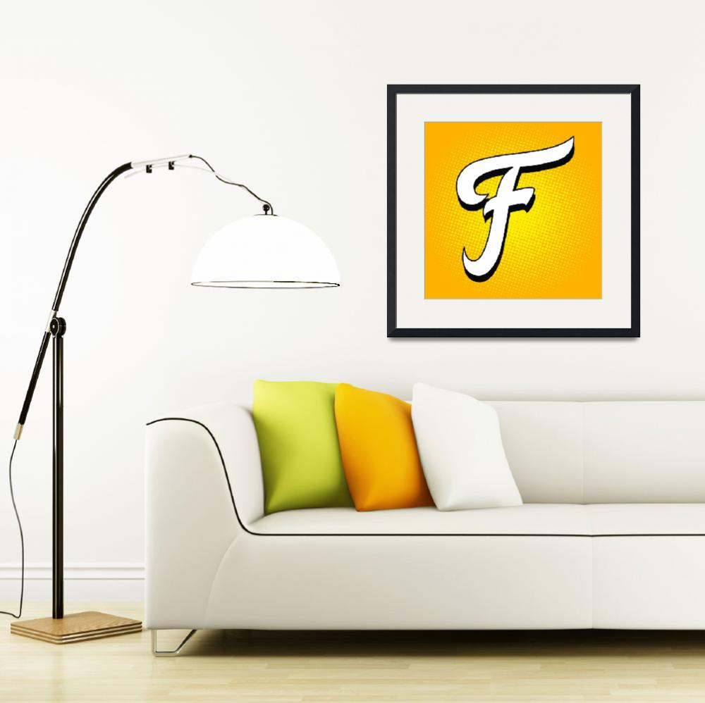 """""""F-Fritos""""  by LetterPopArt"""