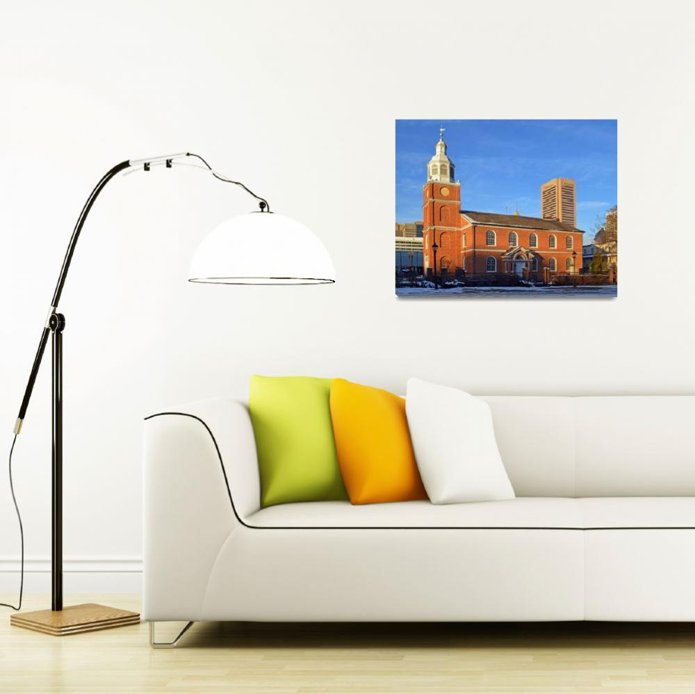 """otterbein-church-building-0769""  by travel"
