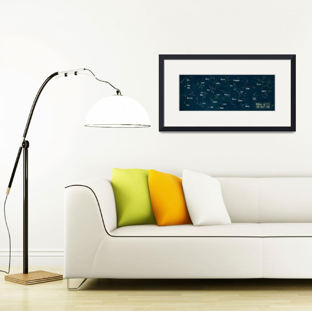 """""""Autumn and Winter Constellations by Joy Laforme&quot  by TheyDrawandCook"""