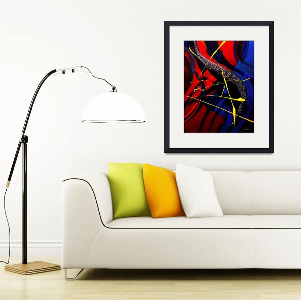 """""""The Abstract Musical Note&quot  (2010) by byronmayart"""