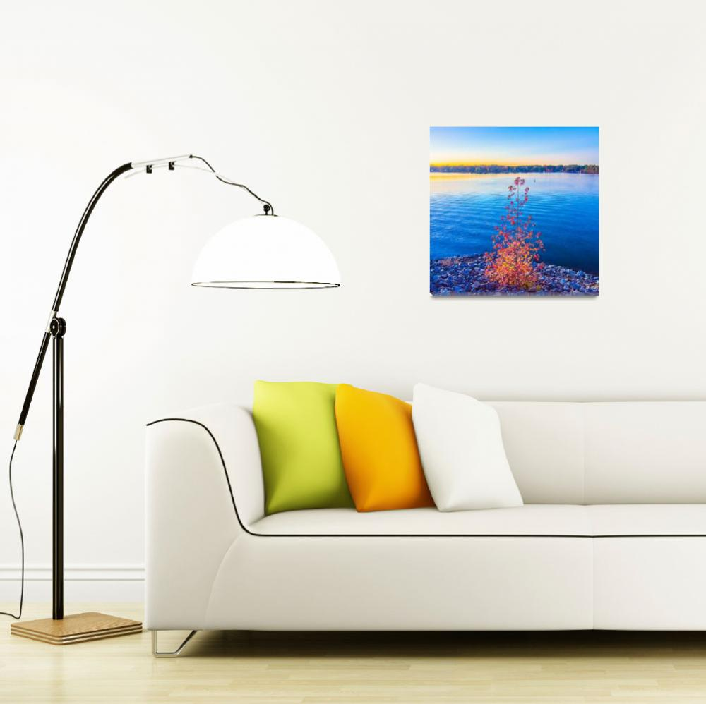 """""""sunset at lake wylie""""  by digidreamgrafix"""