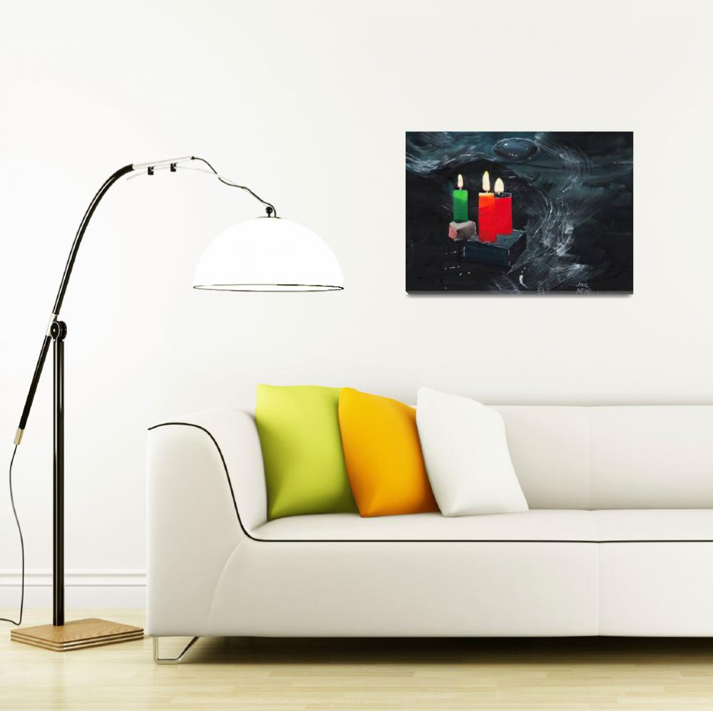 """""""Candle Light&quot  (2015) by arnene"""