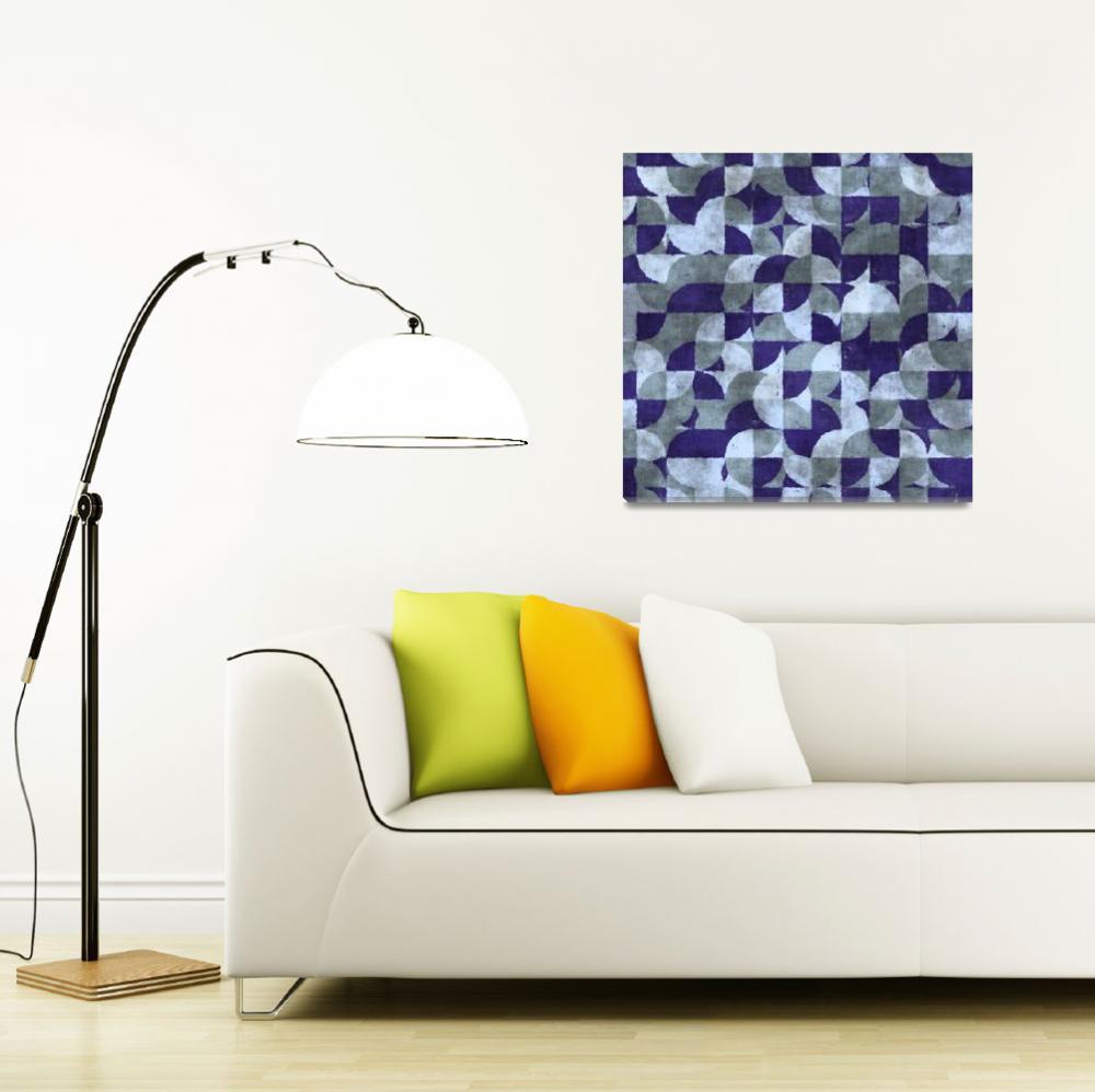 """""""wet paper blue""""  by KrisLeov"""