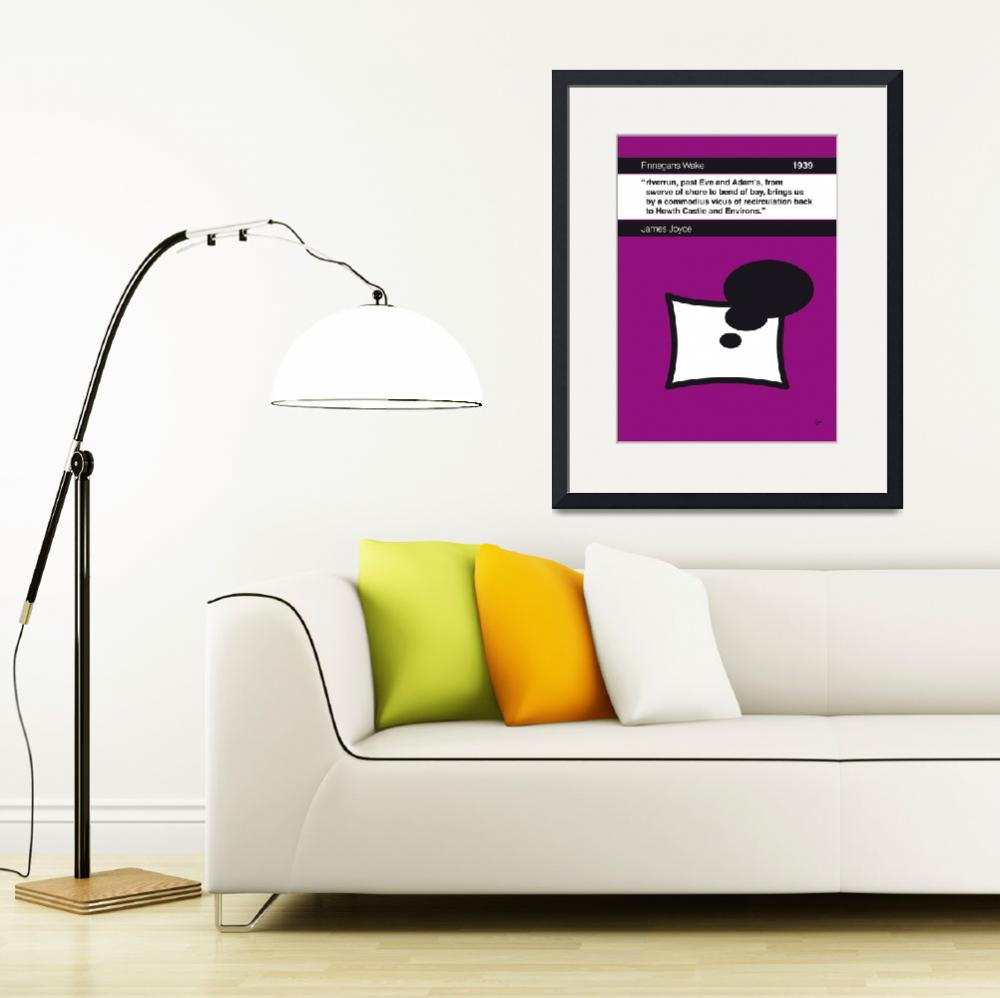 """No007-MY-Finnegans Wake-Book-Icon-poster&quot  by Chungkong"