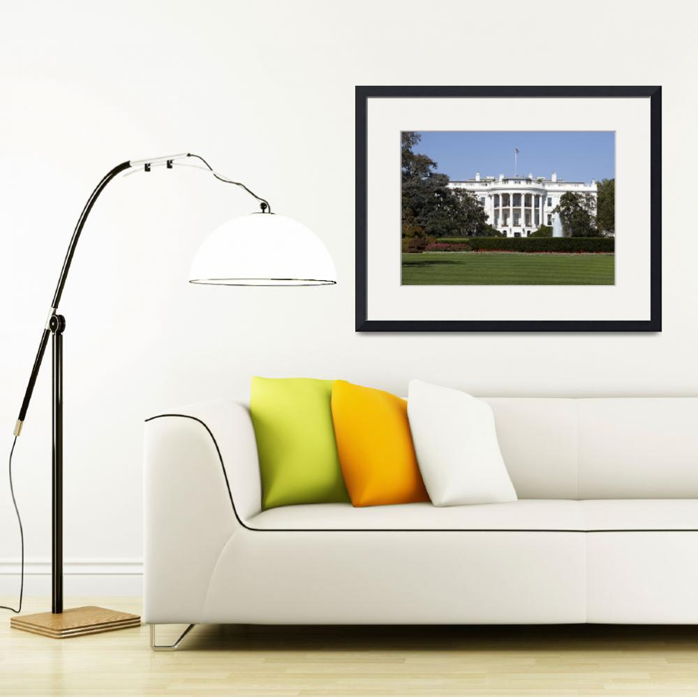 """""""White House in Washington DC&quot  (2010) by lillisphotography"""