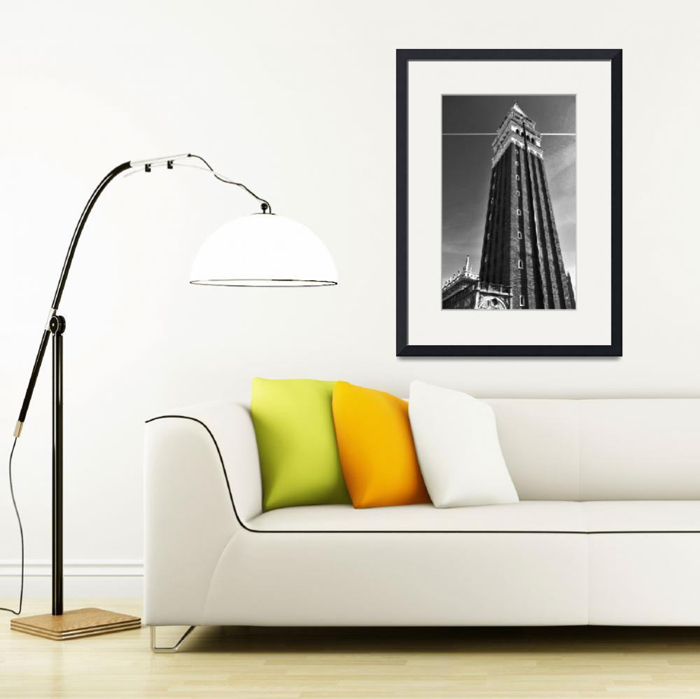"""""""Campanile San Marco in Venice Itlay&quot  (2012) by arthop77"""