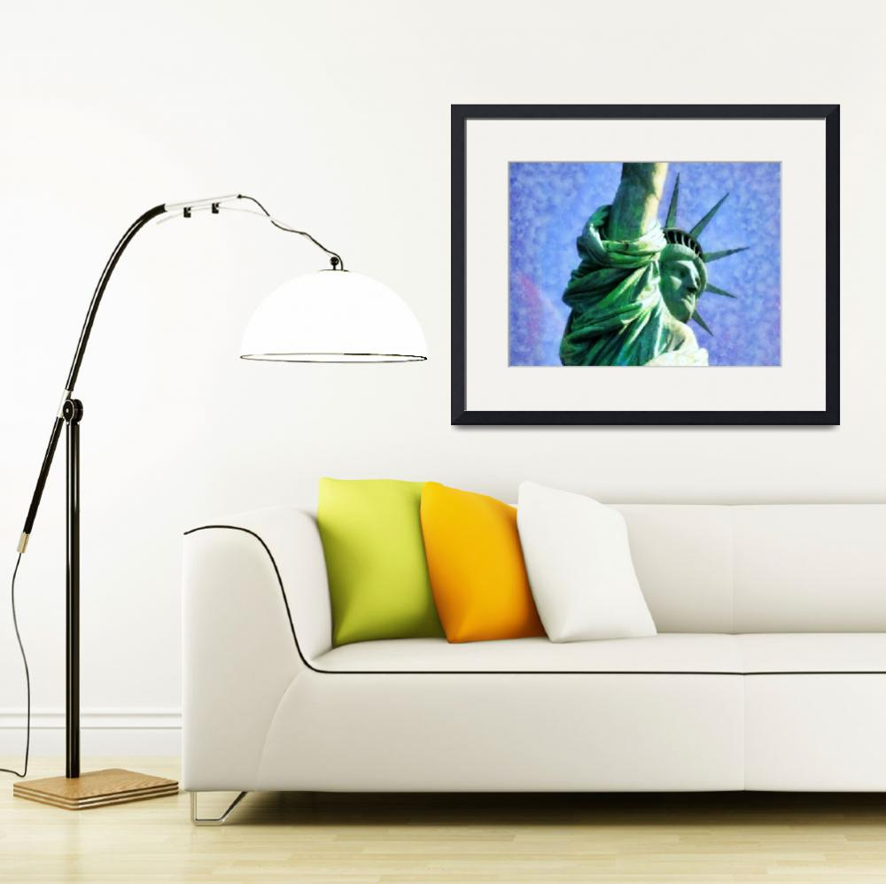 """""""Statue of Liberty&quot  (2012) by printsforwalls"""
