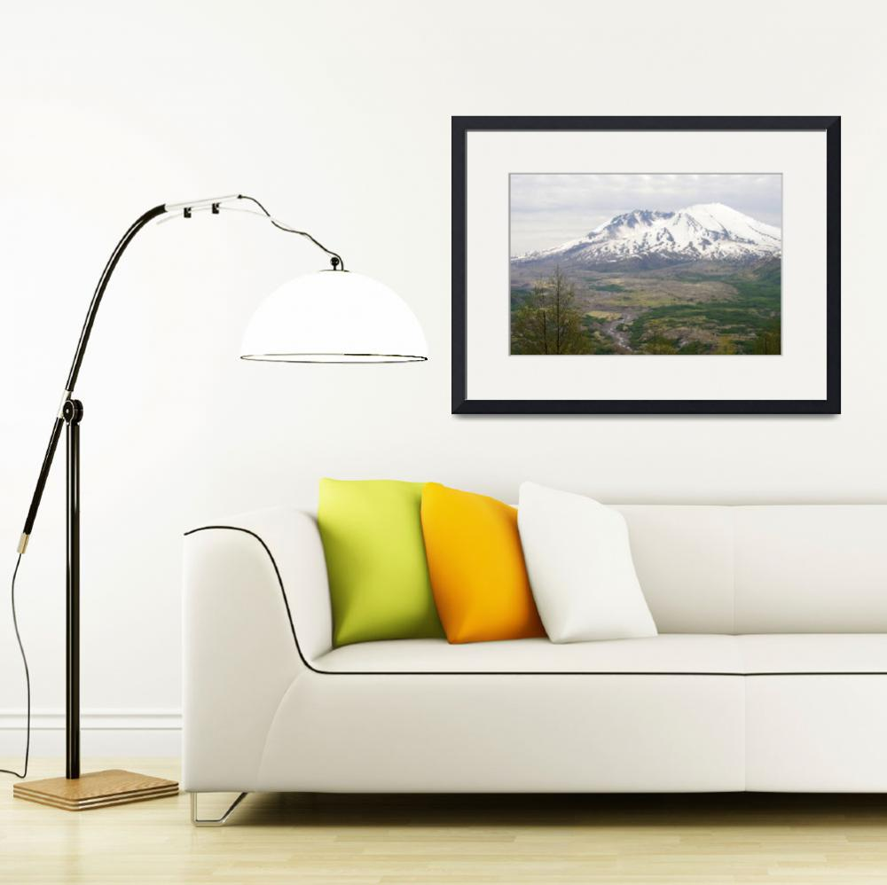 """""""Mt St Helens&quot  (2011) by aRTPhotograph"""