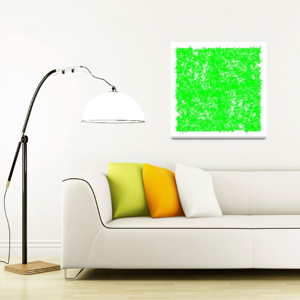 """green spins""  by robertosch"