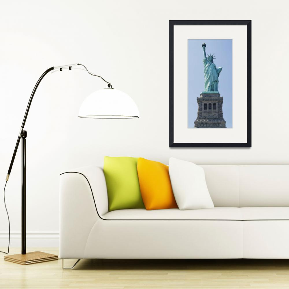 """""""Low angle view of Statue of Liberty""""  by Panoramic_Images"""