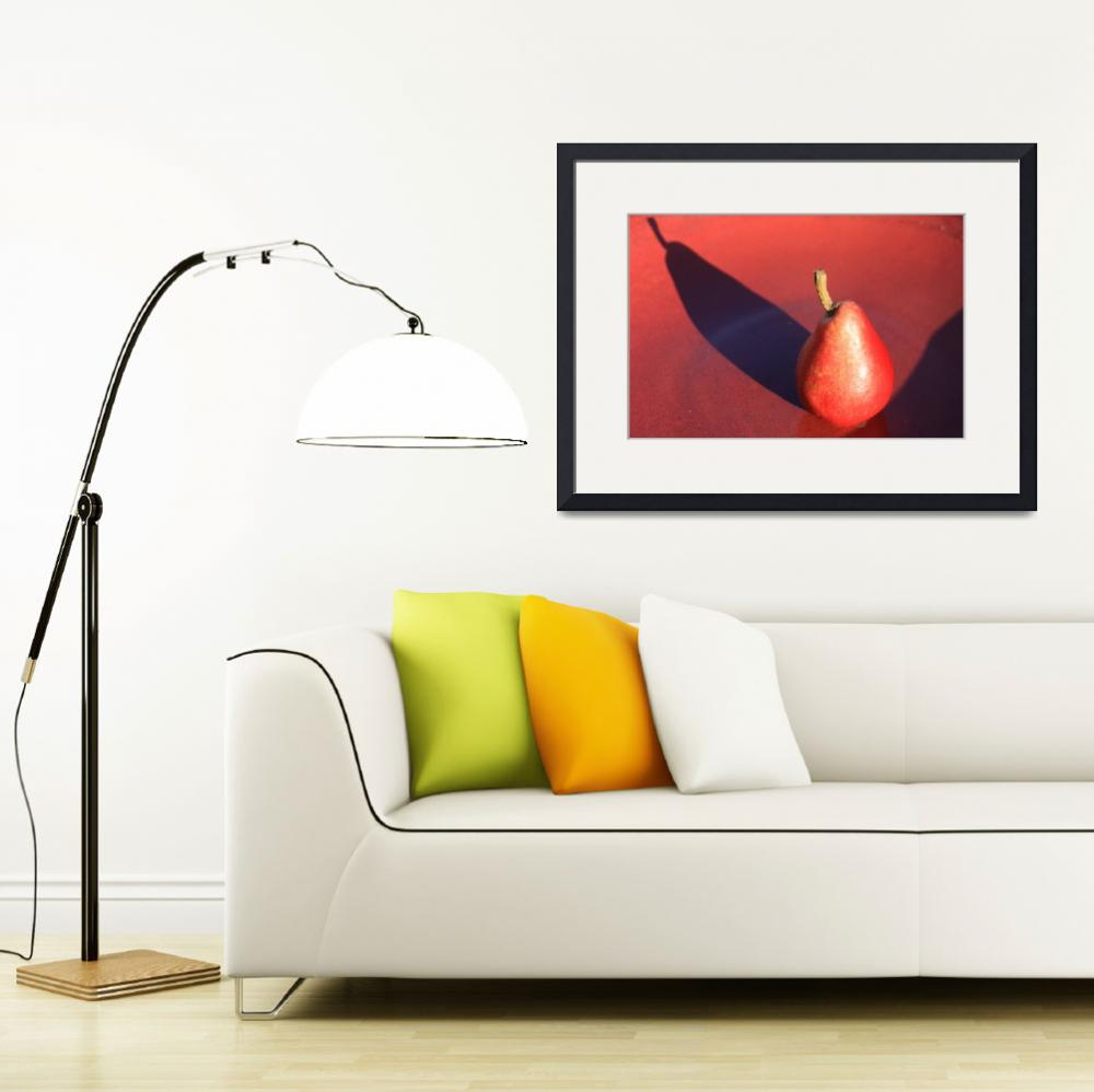 """""""Red Pear&quot  (2008) by Gibsonontherocks"""