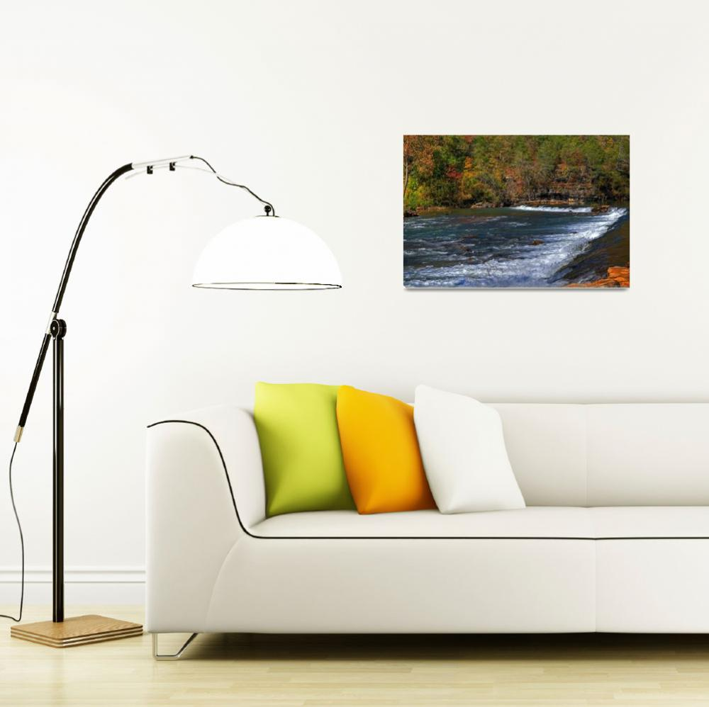 """""""Fall at the Falls""""  (2009) by CKEphotos"""