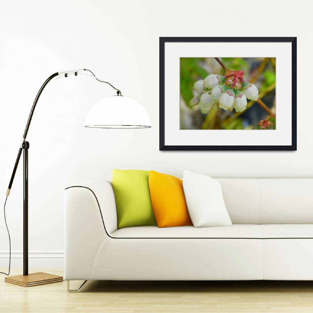 """""""Spring Bouquet, Blueberry Flowers&quot  by vpicks"""