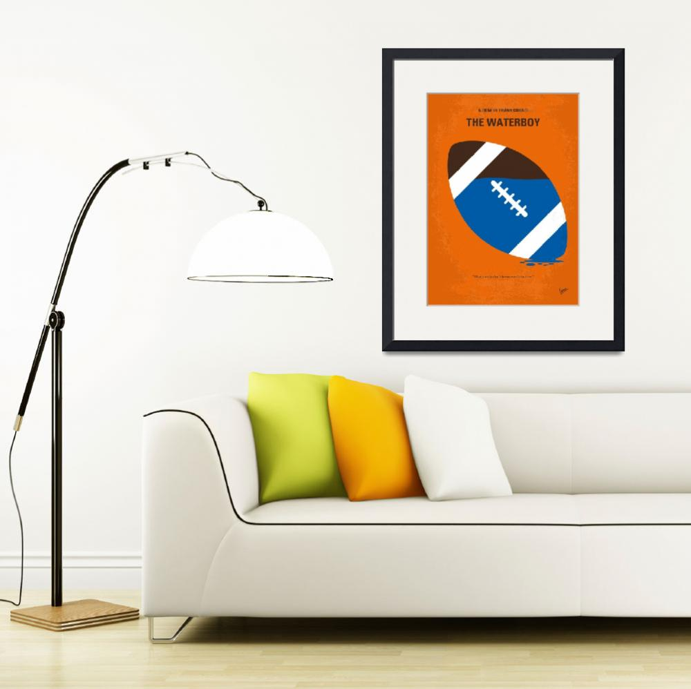 """""""No580 My The Waterboy minimal movie poster&quot  by Chungkong"""