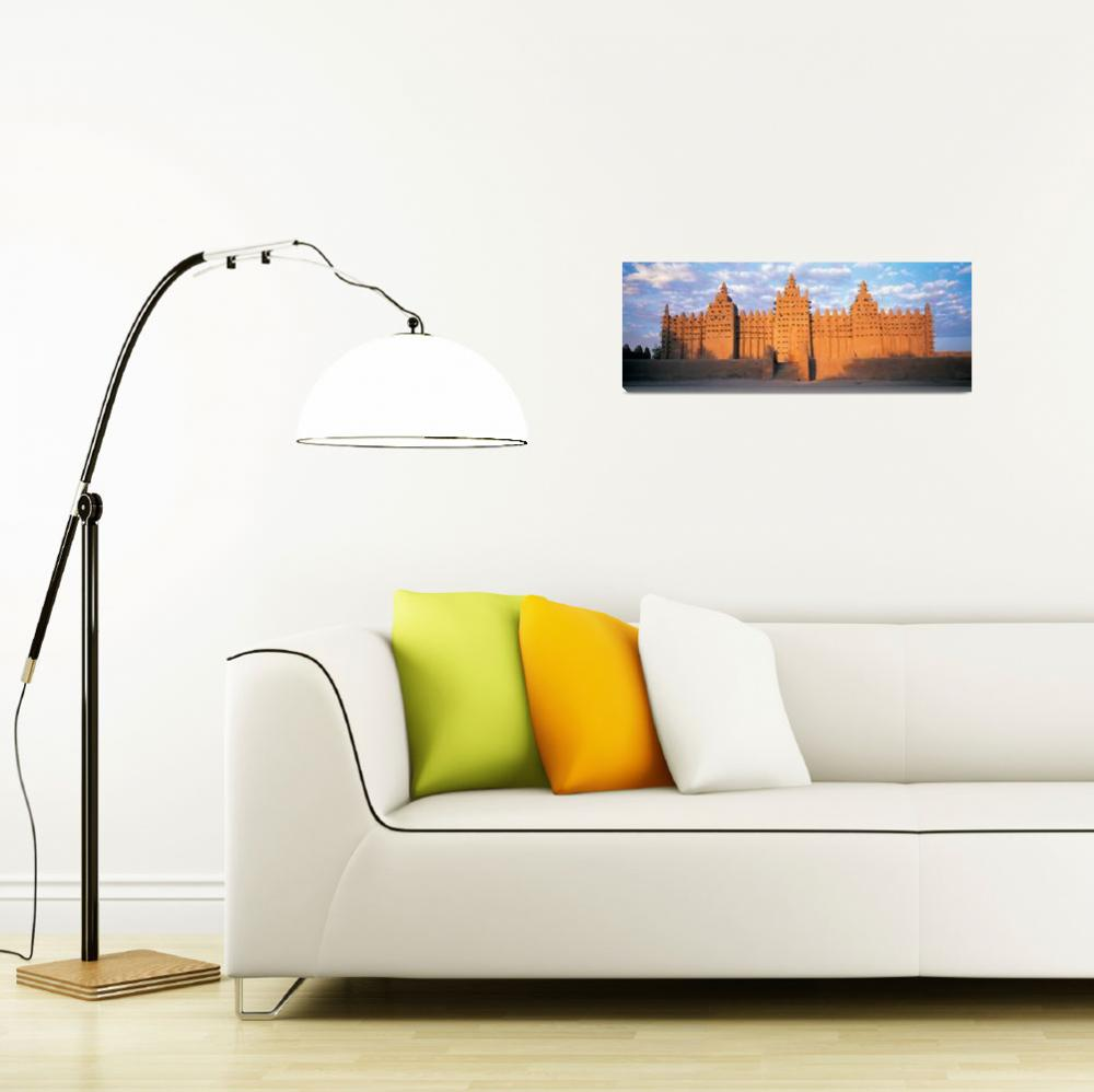 """""""Konboro Mosque Mali Africa&quot  by Panoramic_Images"""