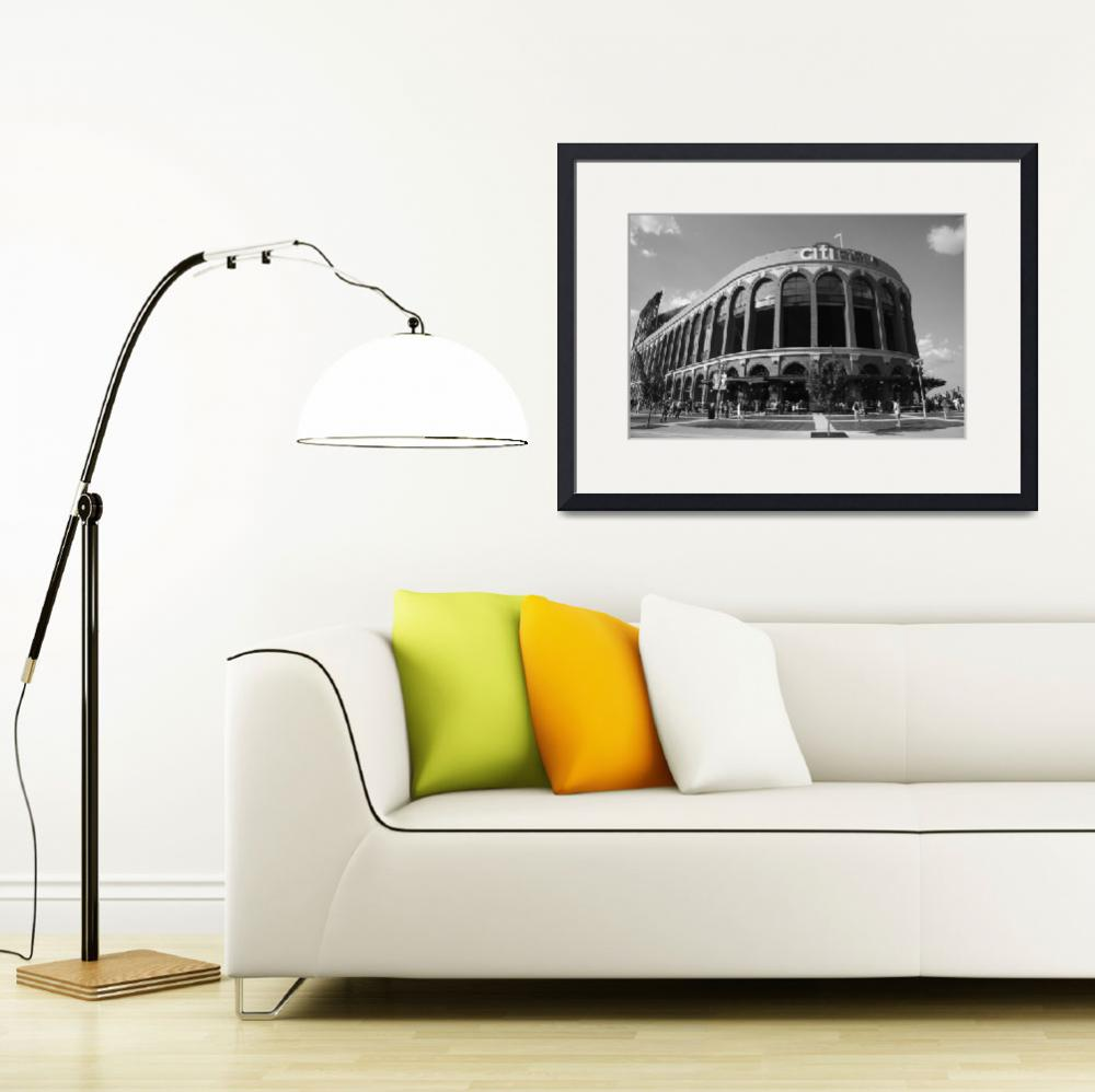 """Citi Field - New York Mets 2011""  (2011) by Ffooter"