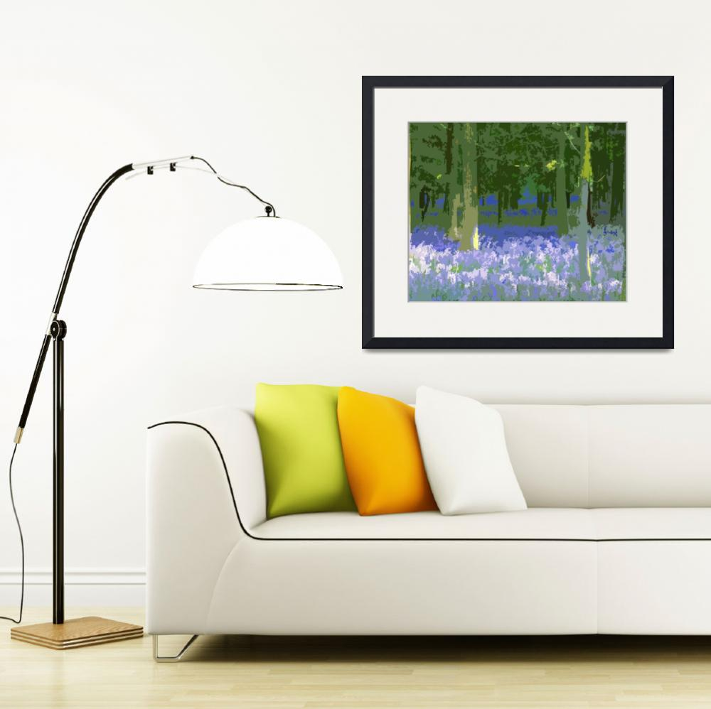 """""""Bluebells""""  by LauraKimHall"""