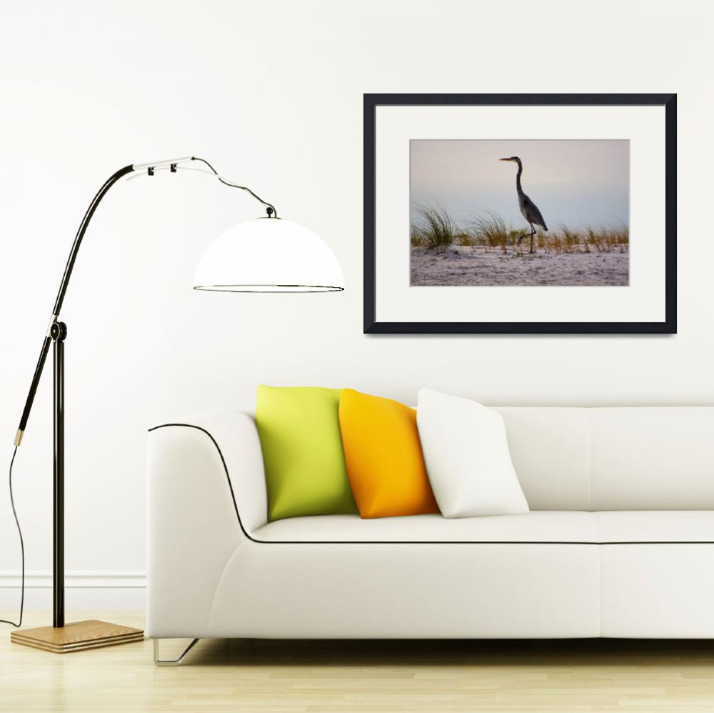 """""""BlueHeron2fixed&quot  (2011) by nlarghi"""