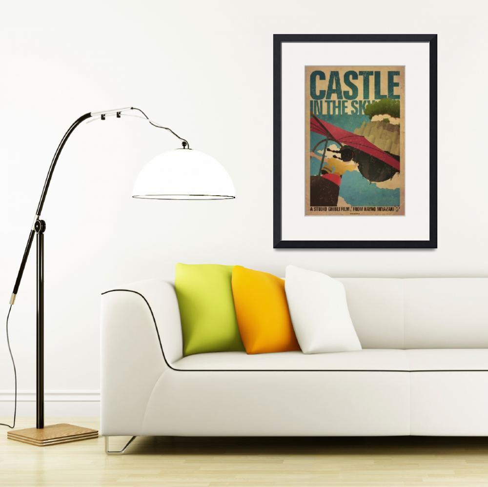 """""""Castle in the Sky&quot  (2011) by curtsywithanger"""