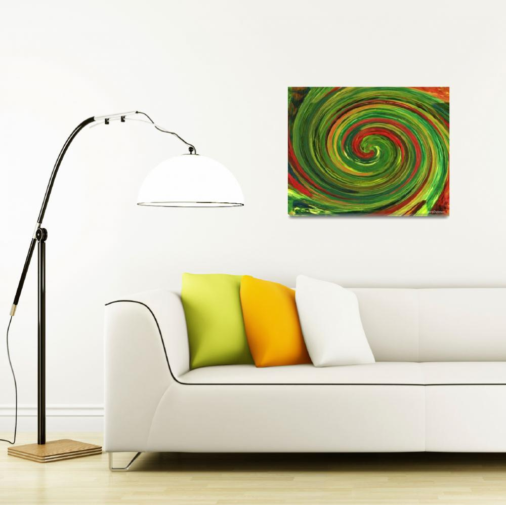 """Spiralicious""  (2009) by HerbDickinson"