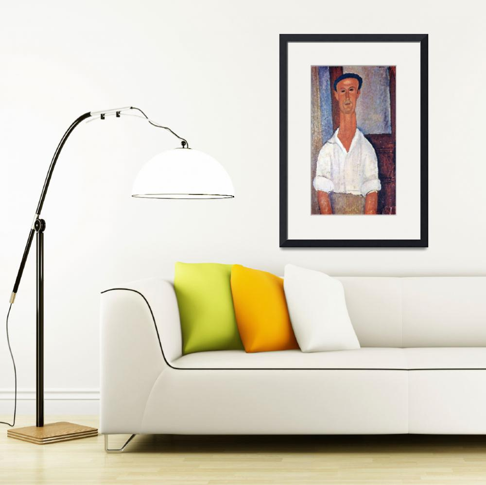 """""""Amedeo Clemente Modigliani Painting 28&quot  by ArtLoversOnline"""