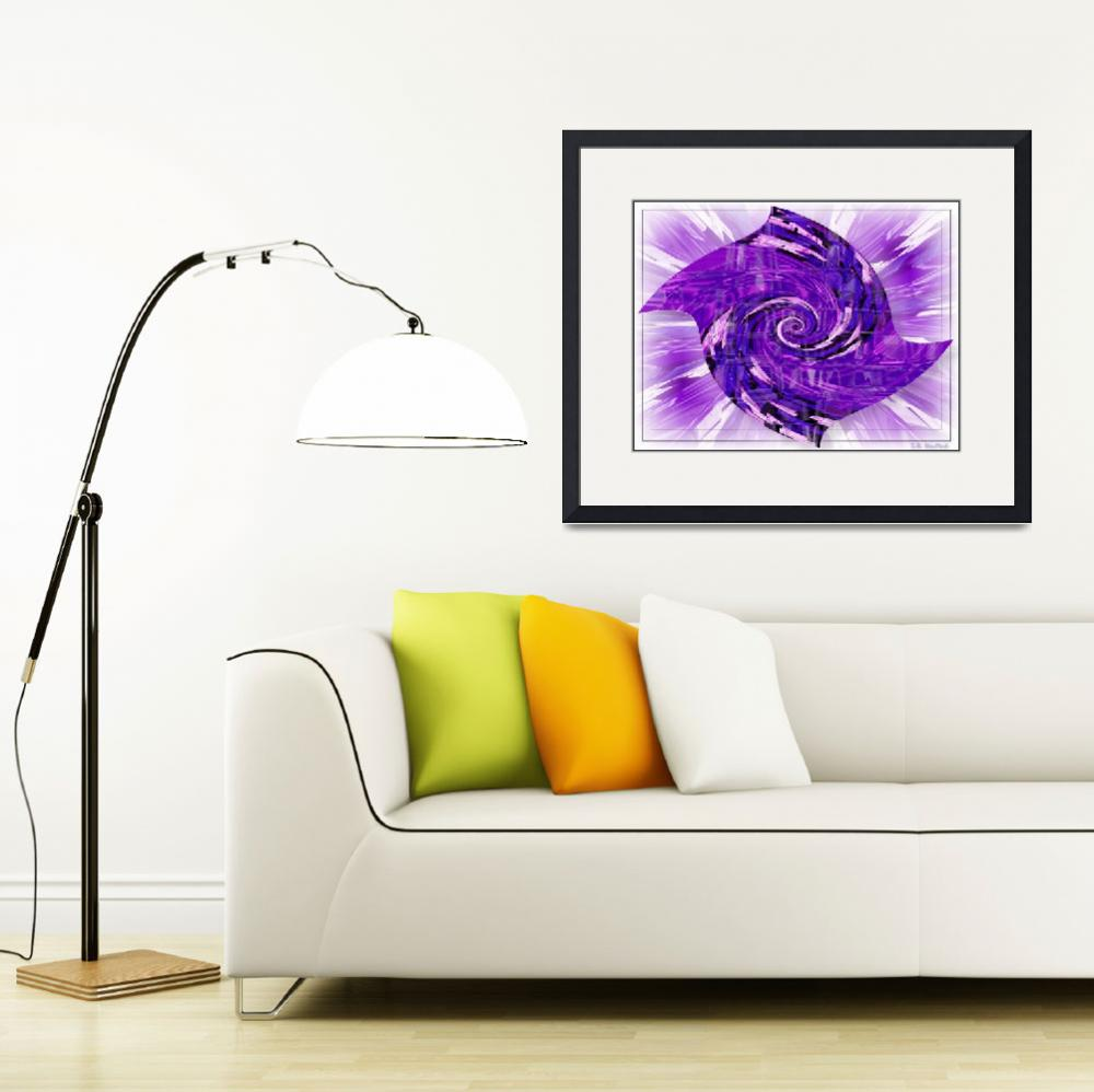 """""""PurpleinaSpin&quot  by PhotoArtbyBarb"""