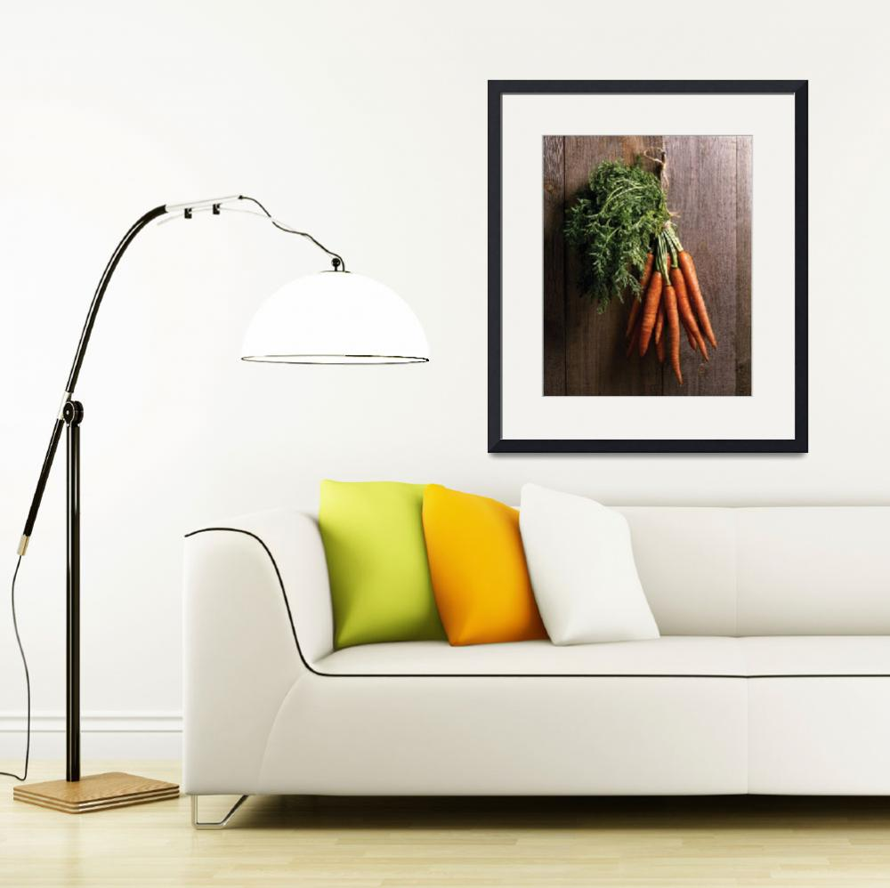 """Carrots on wall""  (1980) by bobbyb236"