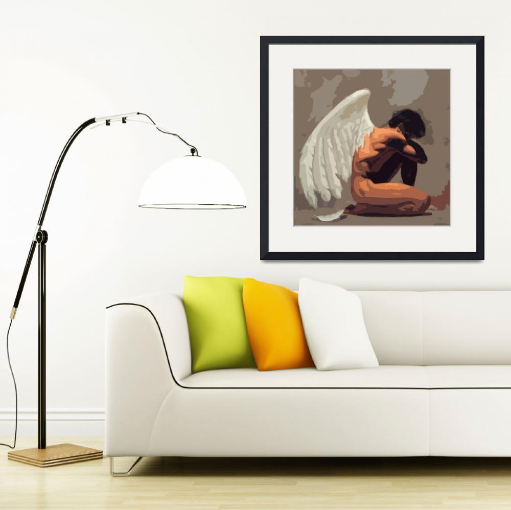 """Angel 01&quot  (2010) by whitewallgallery"