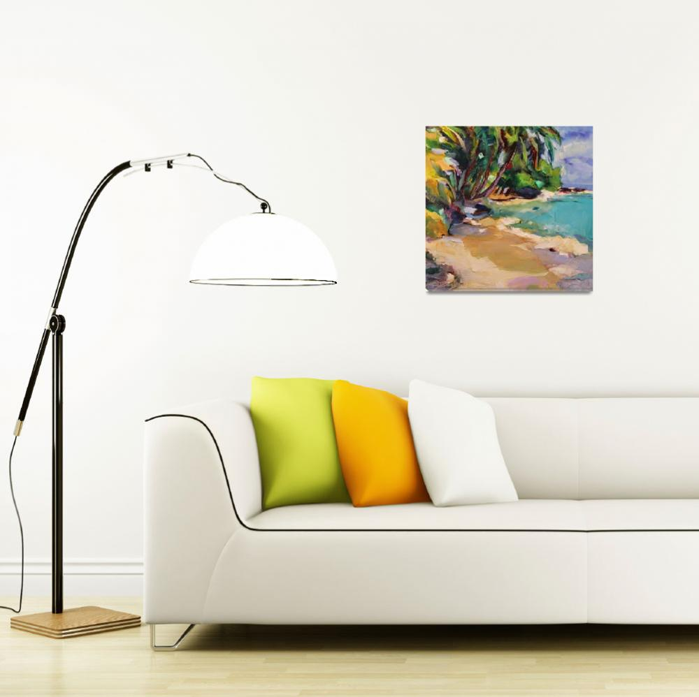 """""""Paradise in Panama""""  (2012) by jacquelinebrewerart"""