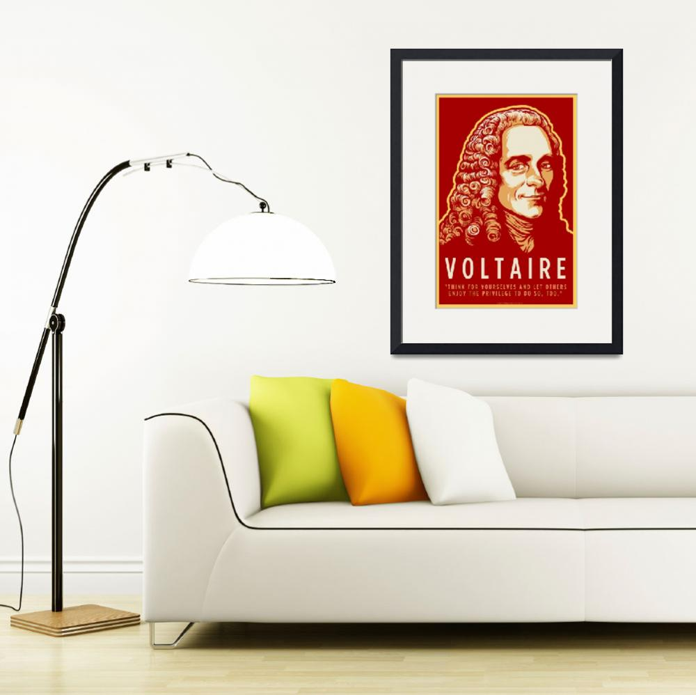 """""""Voltaire&quot  (2010) by libertymaniacs"""