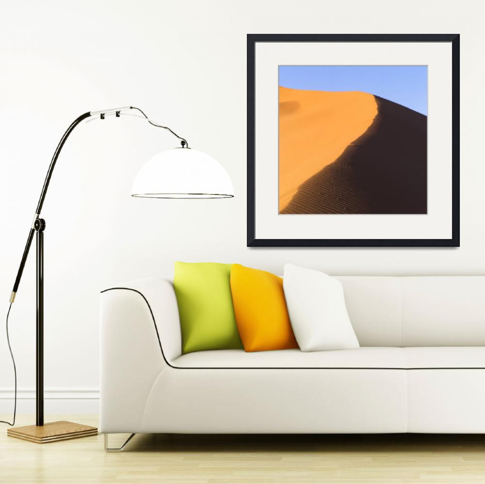 """Sand Dune, Namibia, Africa""  by DesignPics"