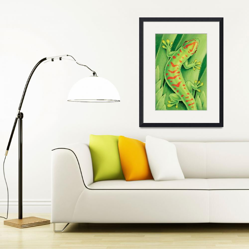 """""""Day Gecko&quot  (2009) by smbittler"""