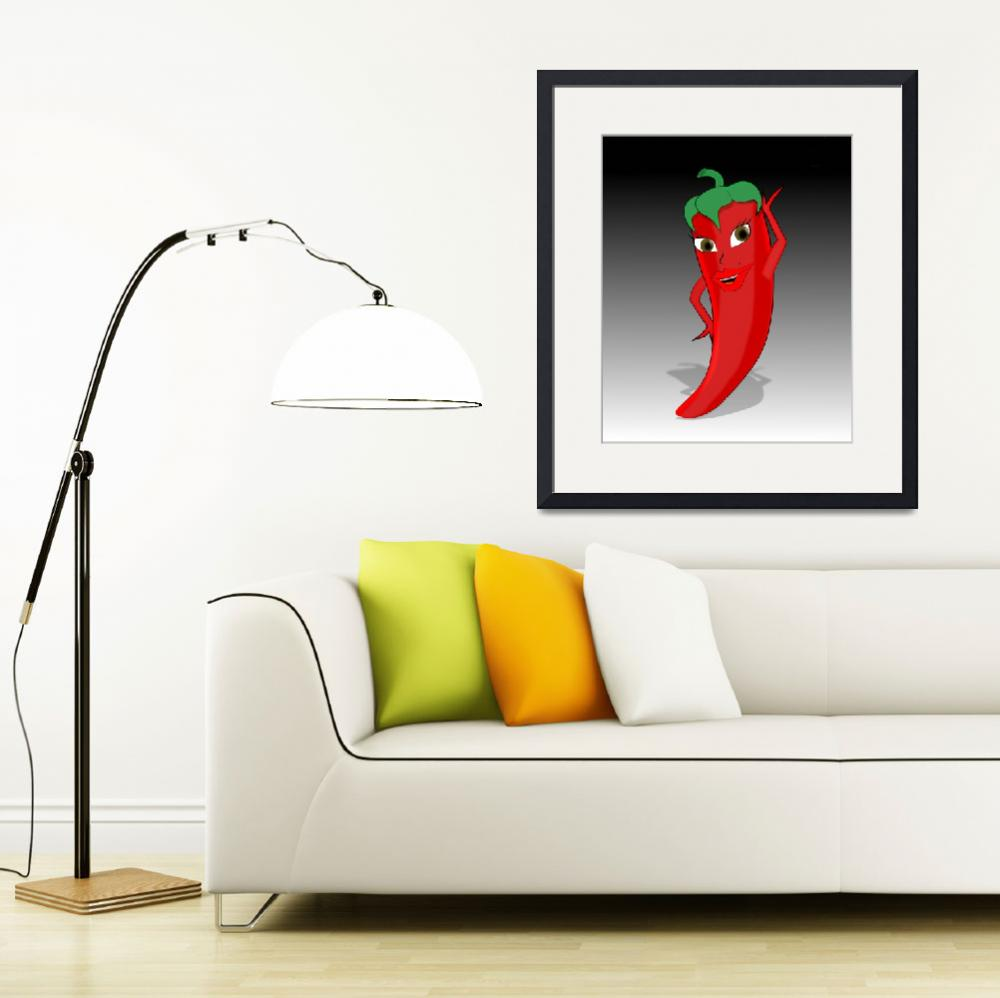 """""""Hot Pepper""""  (2013) by Almdrs"""