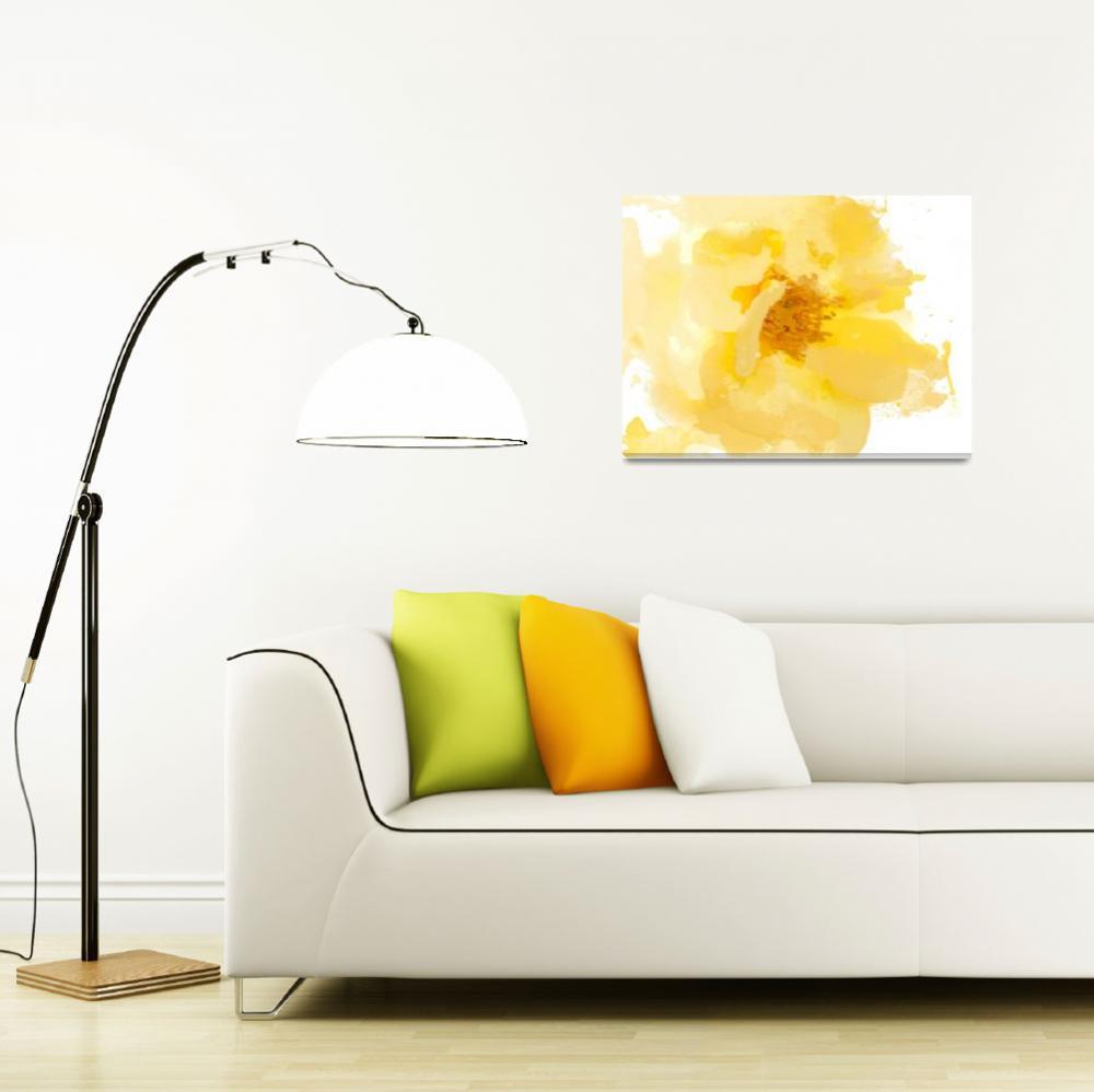 """Irena Orlov, Beautiful and bright, mixed media 24x""  by Aneri"