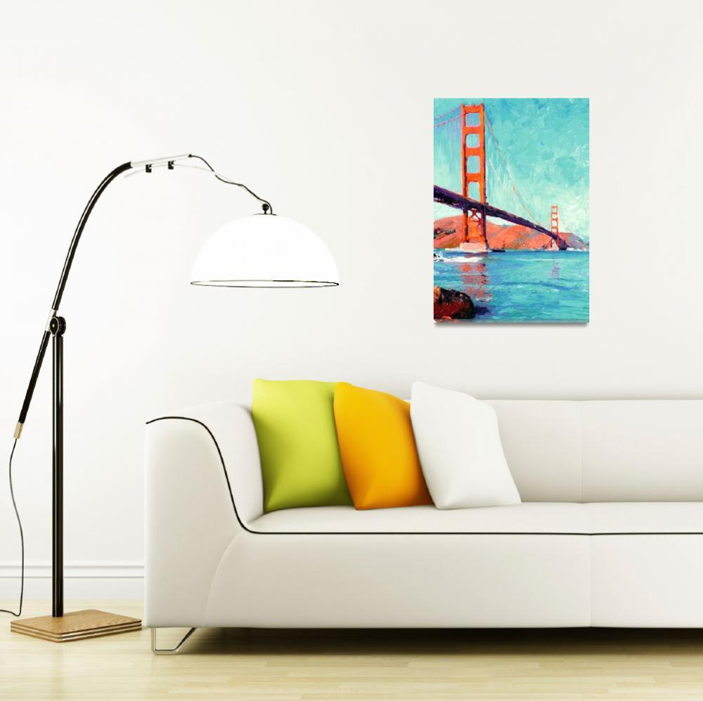 """Golden Gate Bridge San Francisco&quot  (2007) by RDRiccoboni"