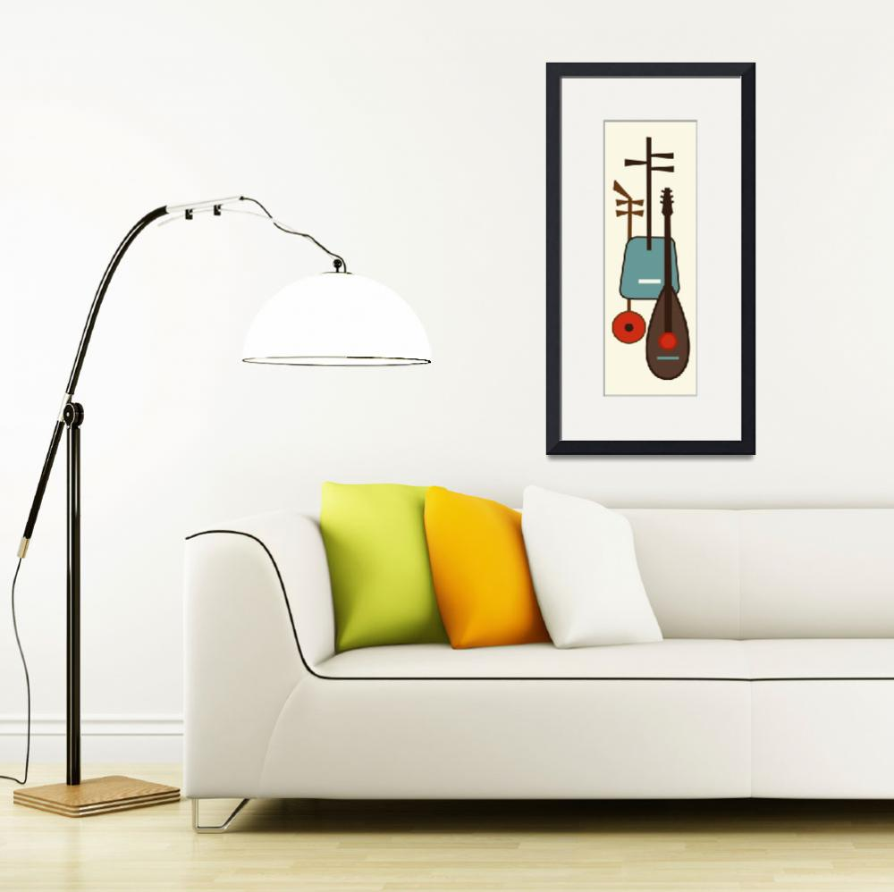 """""""Musical Instruments 1&quot  (2015) by DMibus"""