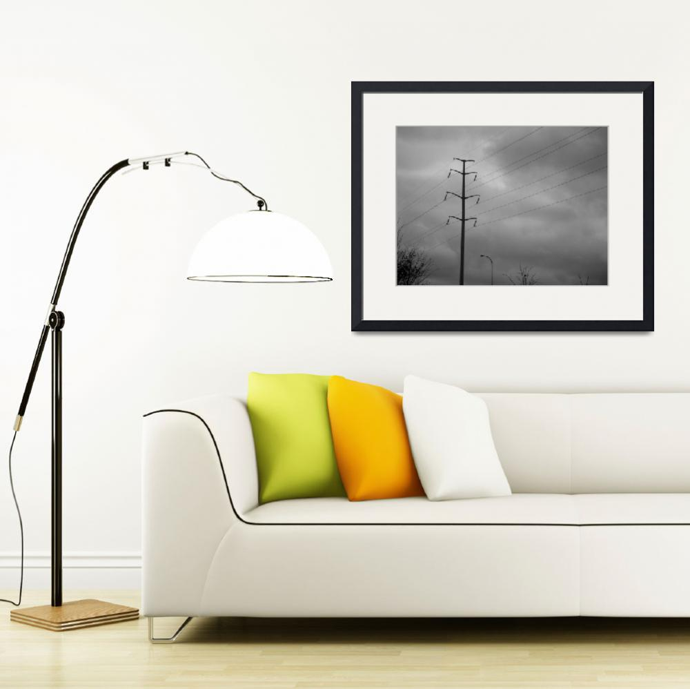 """""""power-line""""  (2009) by phototed"""