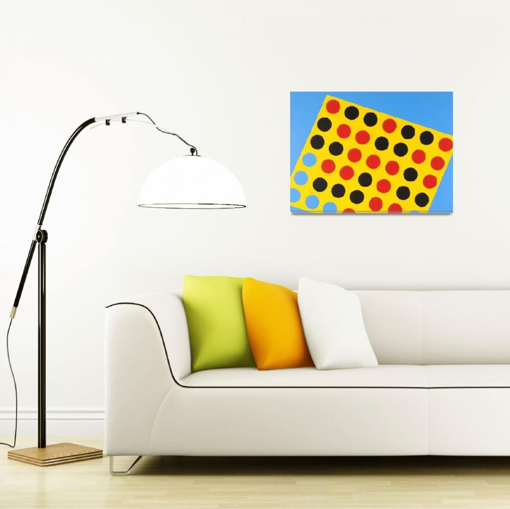 """""""Connect Four""""  (2007) by JulieJalil"""